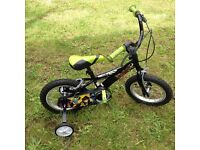 "Ben Ten kids bike 14"" wheels ,with stabiliser,suitable age 4-6 years , good condition working order"
