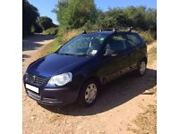 Volkswagen (VW) Polo Blue 2006 3 Door 1.2l Petrol Manual Good Condition 10000 miles MOT due 3.11.16