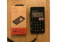 Teenage Engineering Pocket Operator PO-28 Robot with official CA-28 case
