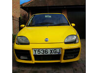 Fiat Seicento Sporting Yellow 1.1 MOT Apr 2017