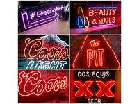 Large Selection Of Commercial Sized Neons Man Cave Pub