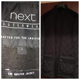Next Men's quilted jacket