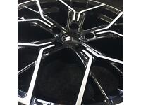 BMW 1 2 3 4 5 6 7 8 alloy wheels size is 18 inch