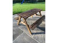 Patio garden table brand New 6 available