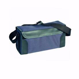 GMK Nylon Polytex Hard Ridge Cartridge Bag Blue 150 Cartridges Trap Clays Field