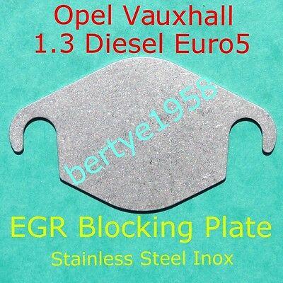 EGR blanking blank plate VAUXHALL Opel 1.3CDTi Euro5 valve only Fiat Alfa Lancia