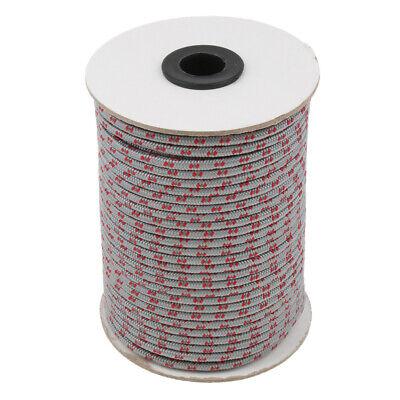 Reflektierend Seil Abspannseil Leuchtend Zeltschnur für Campingzelt,