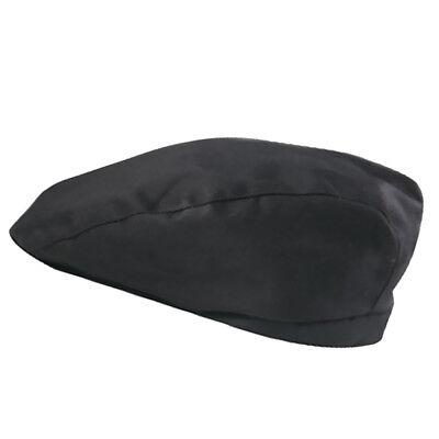 Black Chef Hat Cotton Cook  Waiter Uniform Golf  Fashion Cafe Bar