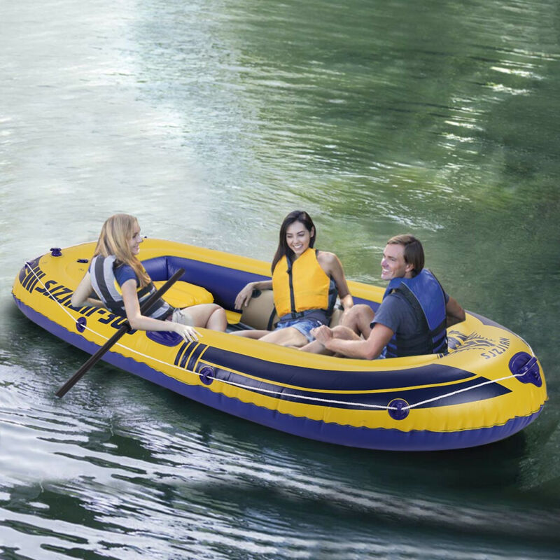 mariner 3 person inflatable rafting water river
