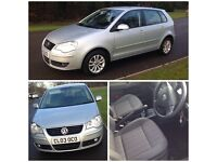 2007 VW POLO S 1.2, 5 DOOR, PETROL, MILEAGE 61000, EXCELLENT CONDITION