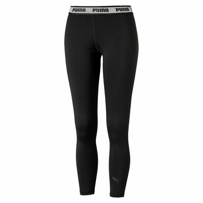 Puma Ladies Soft Sports Leggings Pants Trousers 580462 Black Bnwt New