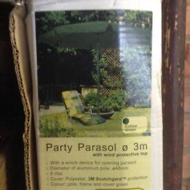 Garden Parasol BNIB