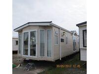 B K Senator static Caravan 2008 model two bedrooms