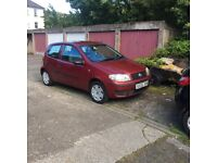 Fiat punto 05 plate low mileage. Years not .