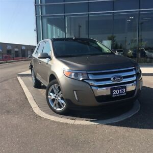 2013 Ford Edge Limited - LOW KM'S, AWD, HEATED LEATHER SEATS, BA