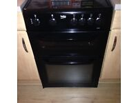 Black beko electric fan assisted cooker