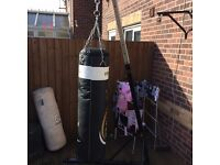 VIPER PUNCH BAG WITH YORK PUNCH BAG STAND