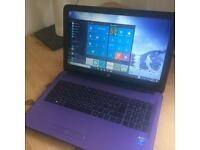 HP Laptop - purple - barely used