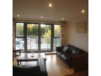 Lovely two double bedroom, furnished flat in Penarth Marina. En-suite and balcony. Secure Parking