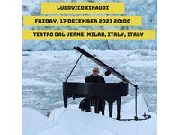 Ludovico Eimaudo Fri 17th Dec in Milan x2 tickets