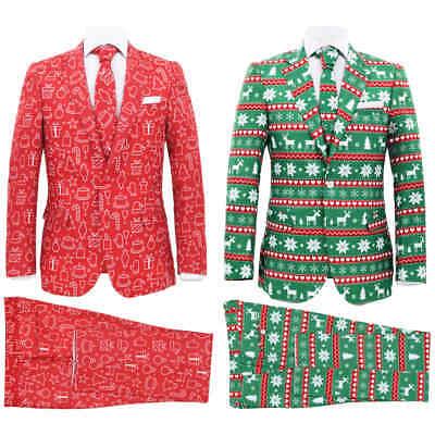 vidaXL Herren Weihnachten Anzug 2-tlg. mit Krawatte Opposuits mehrere - Männlich Weihnachten Kostüm