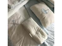 Nursery cot/ bedding set