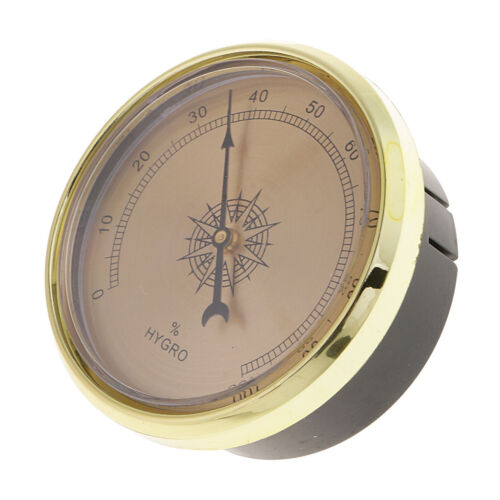hygrometer 66mm cigar accessories for humidor smoking