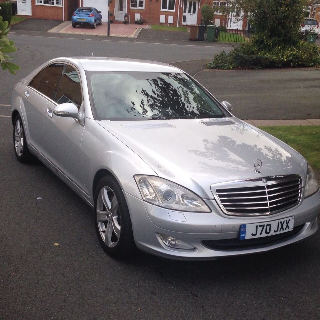 mercedes s320 cdi 2007 57 plate fully loaded sat nav leather seats