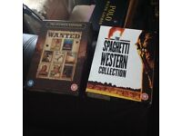 Two Box Sets of Western Dvds all Top Movies Great Condition 11 Discs in all