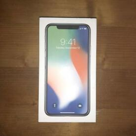 iPhone X 256gb (EE) + Fast Charger UNDER WARRANTY