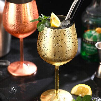 Rotweinglas Edelstahl Champagnerbecher 500ml