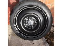 Toyota Auris spare wheel not used