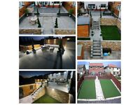 Garden Makeover... Driveways - Paving - Patio- Artificial Grass - Landscaping Services