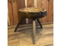 Antique Rustic french stool