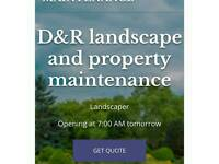 All landscape and property maintenance