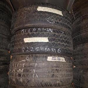 Set of four tires size 245 50 16 for sale
