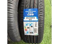 4 x BRAND NEW Cooper Tires Zeon CS8 205/55R 16 91V