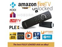 Fire TV Stick with Alexa + Kodi, Aptoide, and more