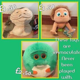 Cuddly toys (unused)
