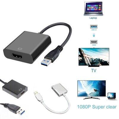 Convertidor adaptador USB 3.0 a HDMI HD 1080P de computadora portátil Tablet...