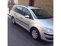 Volkswagen Touran 1.9 TDI S 5dr HPI CLEAR ATTENTION PCO DRIVERS(7 Seats) NU59VJZ