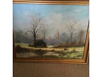 Cannock chase painting