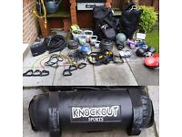 Fitness & weights equipment bundle. Ideal for Personal trainer or bootcamp instructor