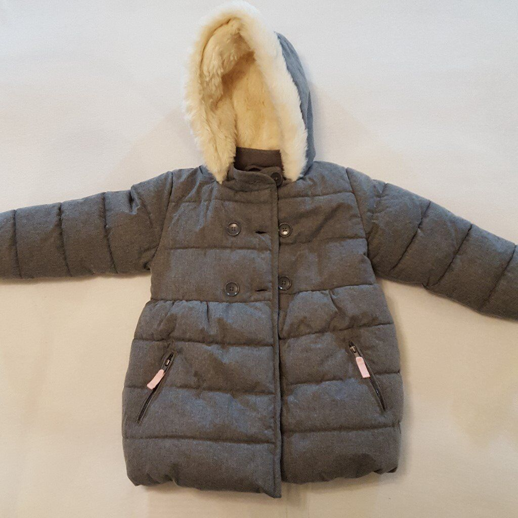 3 girls winter jackets bundle
