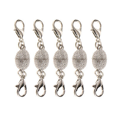 5 teile / los Magnetische Karabinerverschluss für Schmuck Halskette (Kupfer Magnetische Halskette)