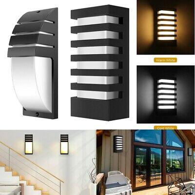 Modern Cuboid COB 15W LED Wall Light IP65 Aluminum Outdoor Courtyard Wall -