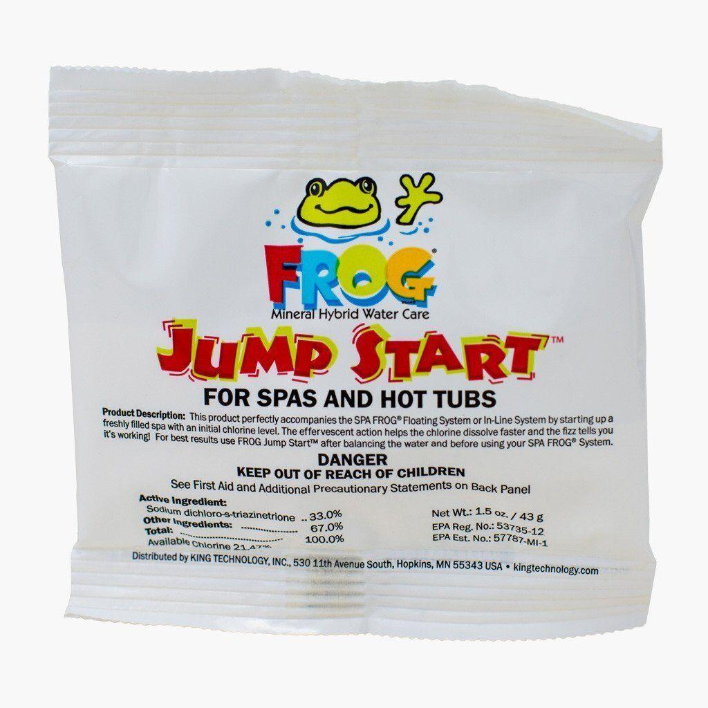 12 Pack Spa Frog 01-14-6012 Hot Tub Mineral Jump Start Shock Chlorine Packets