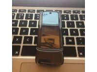 RARE Motorola K1 CLASSIC RETRO Unlocked Flip Mobile SmartPhone + Charger + Sim Card