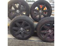 Mercedes R230 SL wheels and tyres