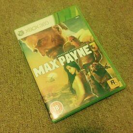 Max Payne 3 (Xbox 360) - Like NEW